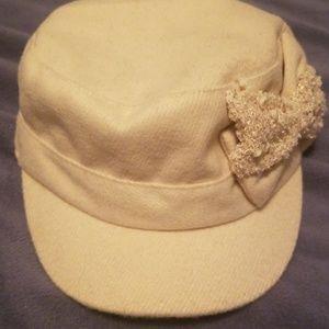 Off white soldier hat